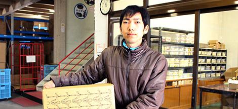 インタビュー:物流部 Sさん(2017年4月入社)