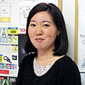 管理部 安藤さん(2017年4月入社)